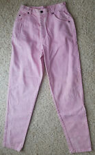 "PINK LEVIS DENIM JEANS JUNIOR MISSES SIZE 11 12 32"" INSEAM BRAND NEW W/OUT TAGS!"