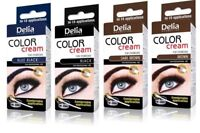 DELIA HENNA CREAM Eyebrow Professional Colour Tint Kit Set Look Like Stars