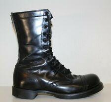 """Corcoran Mens 10"""" Jump Boots Sz 9.5 E Cap Toe Tactical Military Black Leather"""