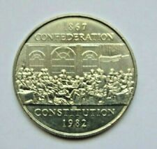 CANADA 1982 CONFEDERATION CONSTITUTION ONE DOLLAR COIN