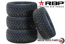 4 X New RBP Repulsor M/T 35X12.50R20LT 121Q 10Ply All Terrain Mud Tires MT