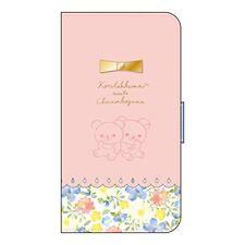 Rilakkuma iPhone X Flip Cover Korilakkuma ChairoiKoguma YY02106 San-X Japan*