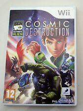 Ben 10 ULTIMATE ALIEN cosmica distruzione Wii PAL