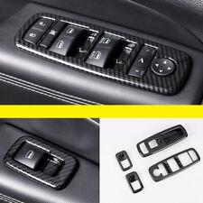 Carbon Accessories Door Window Lift Switch Trim for Jeep Grand Cherokee 11-20
