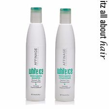 Affinage White Ice Moisturising Shampoo & Conditioner 250ml Duo Aus Stock