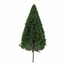 Green HO Scale Model Train Scenery and Trees