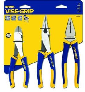 Irwin Vise-Grip 10505483 3 Piece Pro Plier Set