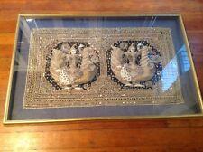 Kalaga tapestry embroidered Burma Burmese harmony gold frame (BRINGS. GOOD LUCK)
