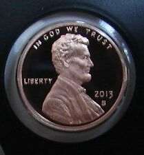 2013 S LINCOLN SHIELD PROOF CENT - GEM MINT CONDITION PENNY