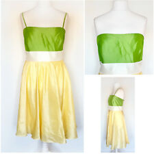 Plus Size 22 Skater Dress Bandeau Strapless Strappy Prom Ball Wedding Party