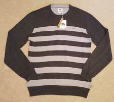 """RUSTY JUMPER. COTTON BLEND. 2 SHADES OF GREY. SIZE XL (44""""). RRP £50."""