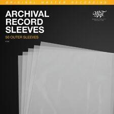 300 St LP Slim H/üllen 100 m/µ Cover Schutz 325 x 325 mm PE 12 Outer Sleeve protection 45 rpm
