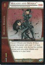 Marvel VS CCG - Marvel Knights - Mikado and Mosha #20 Foil