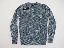 Just Cavalli Men's Multi-Color Fantasy V-Neck Sweater Size Large NWT $285