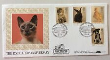 23.1.1990 Revista Oficial Mundial De Gato RSPCA-Cubierta-siameses Gato-perro-Conejo-Benham