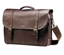 Samsonite Leather Flapover Case 16 x 6 x 13 Brown 457981139