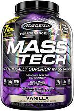 MuscleTech Mass Tech, Scientifically Superior Weight Gain Formula, Vanilla, 7 lb
