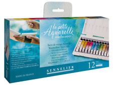 Sennelier La Petite Aquarelle 12 x 10ml Tube Watercolour Paint Set Travel Box