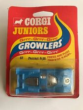"""CORGI JUNIORS growlers - 57 FERRARI 512S - """"premere & PUSH sentirlo Growl"""" - 1975"""