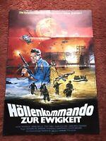 Höllenkommando zur Ewigkeit Kinoplakat Poster A1, David Warbeck, Annie Belle
