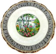 "Royal Albert Silver Birch Salad Plate 8 1/8"" Bone China Made in England"