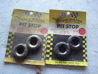 """Vintage Lot of 4 Aurora K&B Model Rama 1 1/4"""" Wide Racing Tires #403 NIP"""