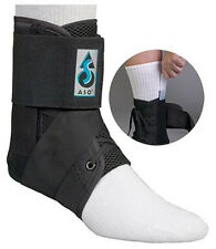 NEW MedSpec ASO Ankle Brace with Plastic Stays Inserts Stabilizer Support Guard