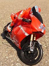 "RC Motorrad DUCATI DESMOSEDICI Länge 23cm ""Ferngesteuert 27MHz"" 88515"