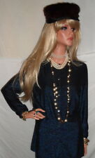 Superb Austria Fashion NWT LoVeLy Wolford Blue Sparkle Cardigan $365 M<~~~~~L@@K