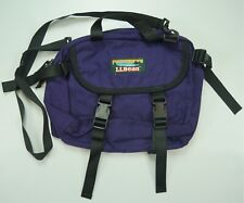Rare Vintage L.L. BEAN Spell Out Large Waist Bag Fanny Pack 90s Hiking Purple