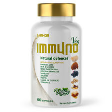 Jarmor IMMUNO Sistema Immunitario Reishi Hericium Zenzero Vitamina C Sambuco