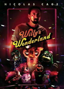 NEW Willy's Wonderland (DVD, 2021) Nicolas Cage - BRAND NEW FACTORY SEALED