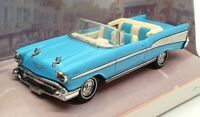 Matchbox Dinky 1/43 Scale DY-27B - 1957 Chevrolet Bel Air Convertible - Blue