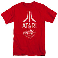 ATARI JOYSTICK LOGO Licensed Adult Men's Graphic Tee Shirt SM-5XL