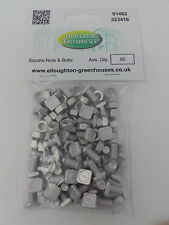 50 Aluminium Greenhouse Nuts & Bolts Genuine Elite Greenhouses nuts and bolts