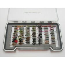 Winter Collection Trout Fishing Flies -63 Flies Box Set, Fly Fishing Gift, NBX73