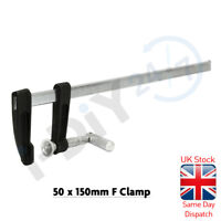 F CLAMPS 2pc 4pc 12pc WOODWORKING 150mm 300mm 600mm Wood Clamp Quick Slide