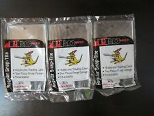 3 count Lot Pro-Mold PC12 Regular Snap Tite Card Holder