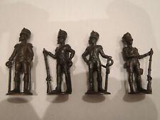 Vintage metallfiguren metal kinder surprise soldiers