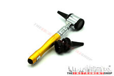 Otoscope ENT Opthalmoscope LED Bulb Earspecula Reusable Diagnostic Tool Yellow