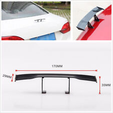 17cm Mini Carbon Fiber Twill Style Surface Car Rear Wing Spoiler Decoration Wing