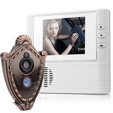 2.8inch LCD Digital Peephole Viewer Door Eye Doorbell Video Color IR Camera HPj