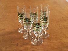 6 Schnapsgläser Moskovskaya Wodka 4cl unbenutzt
