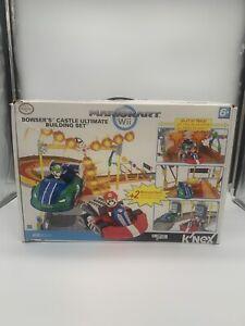 K'NEX Mario Kart Wii Race Track Bowser's Castle Ultimate Building Set