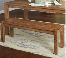 Tremendous Dining Room Farmhouse Benches For Sale Ebay Squirreltailoven Fun Painted Chair Ideas Images Squirreltailovenorg