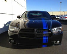 Dodge Charger Mopar 11 Blue Color Vinyl Racing Stripes Sticker Graphic Decal
