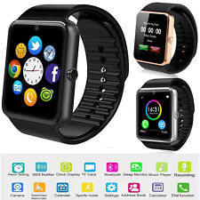 Bluetooth Smart Watch Unlocked Cell Phone For Android Samsung LG Huawei P30 P20