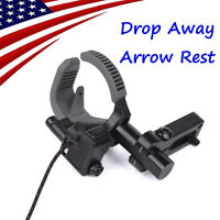 New Fall Drop Away Arrow Rest for Compound Bow Hunting Archery Right Handed BK