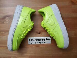 DS Nike Force 1 LV8 UV Volt / White AO2287-700 Pre-School Size 1Y