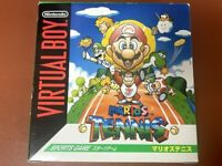Mario Tennis Nintendo Virtual Boy Japan VB